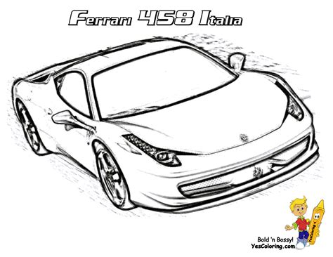 coloring pages ferrari cars heart pounding ferrari coloring ferrari cars free