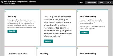 tile layout html css 30 free beautiful css layouts for user interface designers