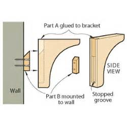 shelf bracket plans pdf woodworking