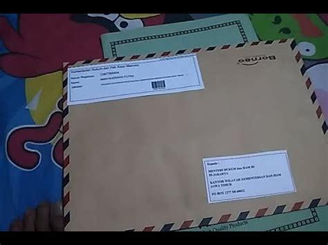 berkas lamaran cpns yang kita kirim melalui pos