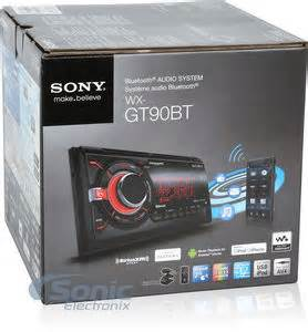 Sonic Electronix Gift Card - sony wx gt90bt double din bluetooth car stereo w pandora 25 sonic electronix gift card