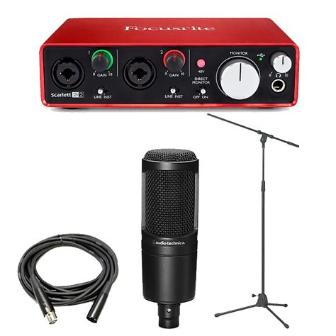 Focusrite 2i2 2nd Audio Interface focusrite 2i2 2nd usb audio interface with reverb