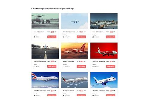 hot deals flight tickets