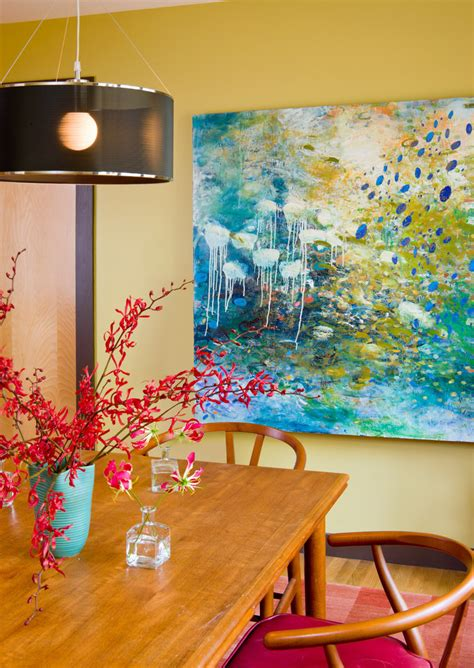 Paintings For Dining Room Lovely Flower Canvas Paintings Decorating Ideas Gallery In Dining Room Contemporary Design Ideas