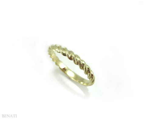 Rope Wedding Bands by Twisted Rope Wedding Ring Twisted Rope Gold Wedding Band