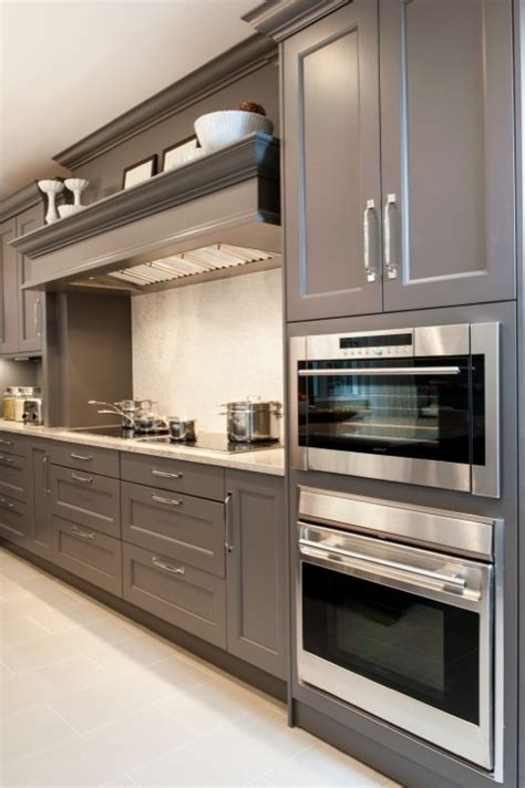 Grey Cabinets Kitchen by Gray Cabinets Design Ideas