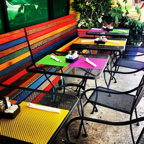 Colorful Patio Furniture Rafa S Color Colorful Dallas Exterior Foodie Lunch Mexicanfood Summer Storefront