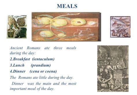 cucina romana antica our menu