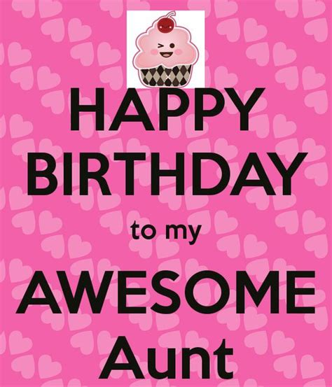Happy Birthday Quotes For Aunts Happy Birthday To My Awesome Aunt Birthday Pinterest