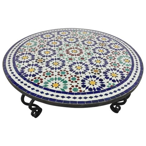 moroccan tile outdoor table moroccan outdoor mosaic tile table from fez in traditional