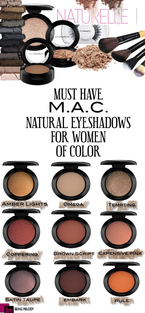eyeshadow colors nine must mac cosmetics neutral eyeshadows for