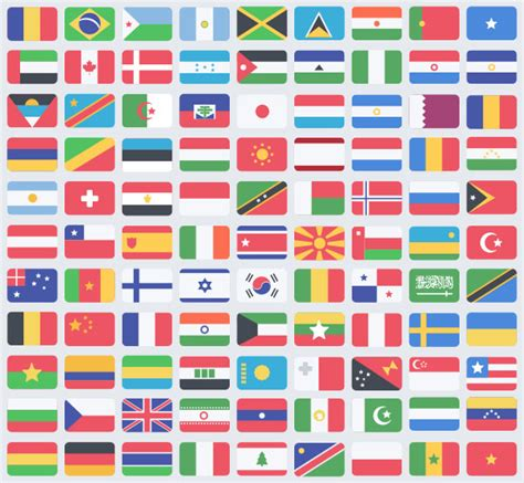 world flag templates the gallery for gt world flags icons