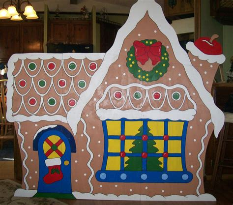 Woods Gingerbread House Commercial Christmas Gingerbread House Large Yard Decoration Ebay