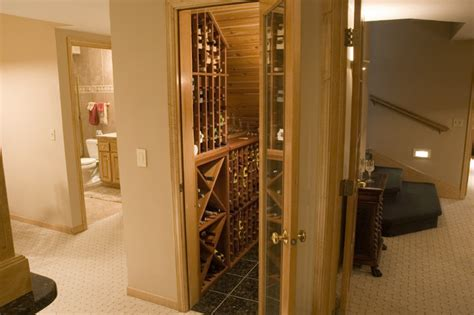 Under Cupboard Lighting Kitchen - great wine closet using under staircase space traditional wine cellar minneapolis by