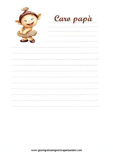 lettere per papa carta da lettere per la festa papa