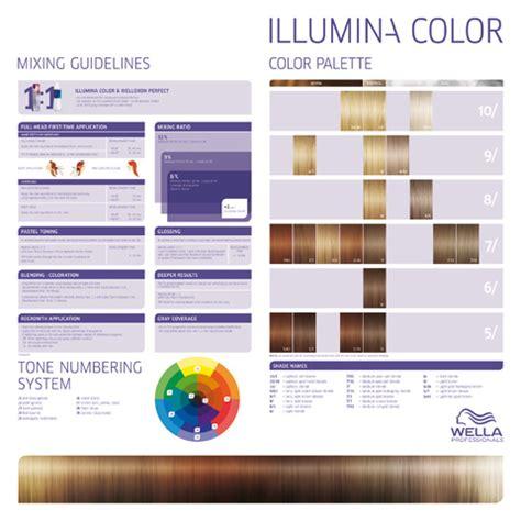 illumina color wella cartella colori cartella colori wella illumina