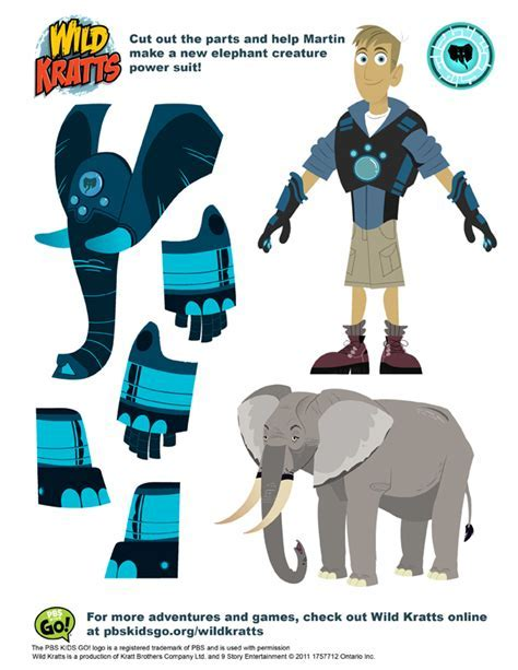 Wild Kratts Printables Pbs Kids Programs Pbs Parents