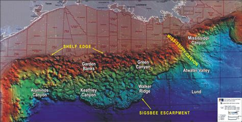 Gulf Of Mexico Continental Shelf noaa explorer expedition to the slope