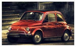 Fiat Vintage Fiat 500 Vintage Hdr 1440x900 Wallpaper