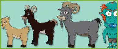 billy goats gruff stick puppets free early amp primary teaching resources eyfs amp ks1