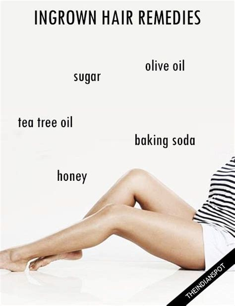 how to exfoliate legs with ingrown hairs 25 best ideas about ingrown hair remedies on pinterest