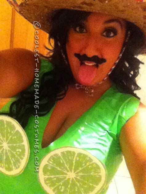diy margarita with lime costume feeling crafty costume take with a grain of salt a slice of lemon and a of tequila
