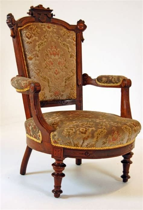 victorian armchair walnut armchair antique chair victorian salon fireside