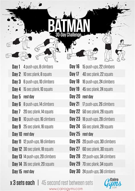 target 100 the world s simplest weight loss program in 6 easy steps books your summer needs the batman fitness challenge