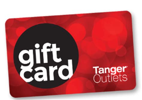 Tanger Outlets Gift Card - free 20 tanger outlet gift card