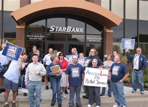 rally in woodbury mn save the post office