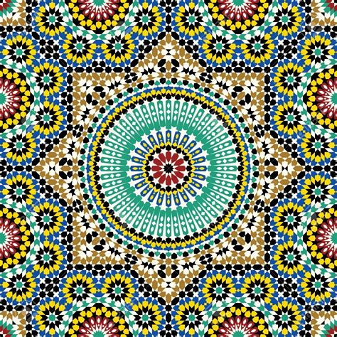 arab traditional pattern traditional arabic design royalty free cliparts vectors