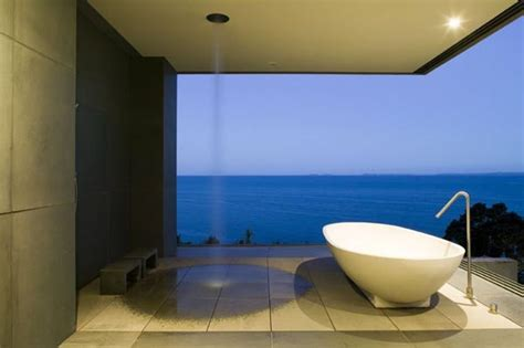 Modern Bathroom New Zealand Cliff House By Fearon Hay Architects In Auckland New Zealand