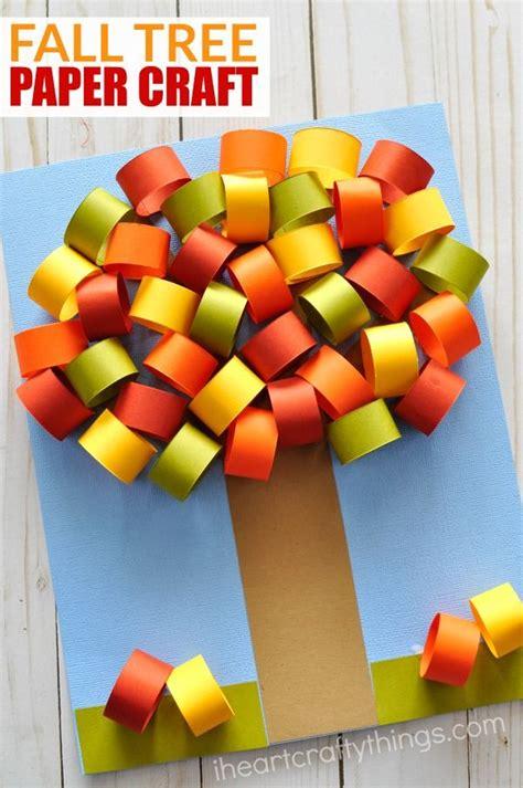 beautiful paper craft beautiful fall tree paper craft fall trees paper crafts
