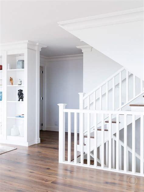 escaleras  barandilla de madera images  pinterest stairway ladder  ladders