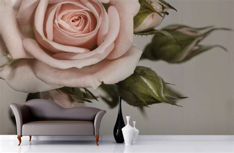 Rose Wall Mural kv condo wallpaper wall murals a home decor trend i m