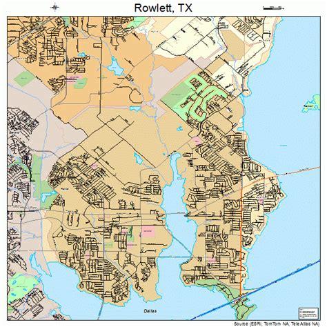 map of rowlett texas rowlett texas map 4863572