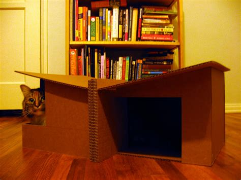 Download Cardboard Cat House Plans Pdf Cardboard Playhouse Instructions Woodplans