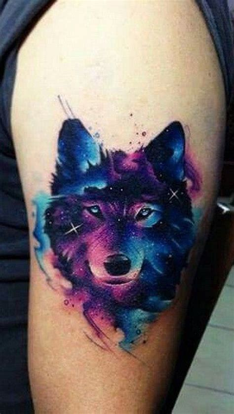 animal galaxy tattoo 25 best ideas about watercolor wolf on pinterest wolf