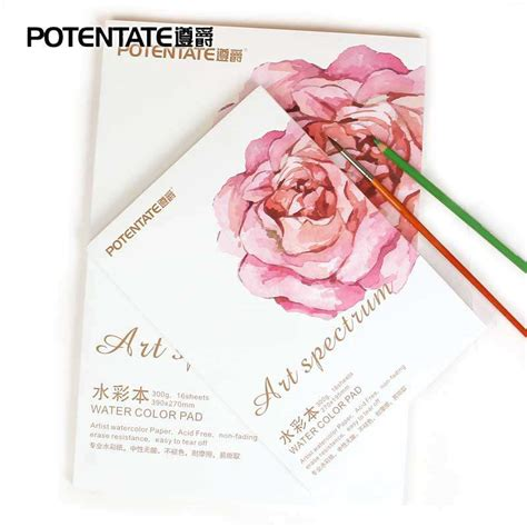 sketchbook potentate số sketchbook vẽ m 224 u nước a4 potentate 300g cao cấp 16