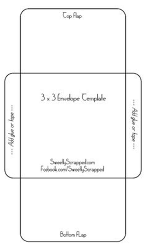 printable envelope template for 4x6 card 27 free printable recipe card sets seed packets