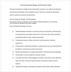 job description template 47 free word excel pdf