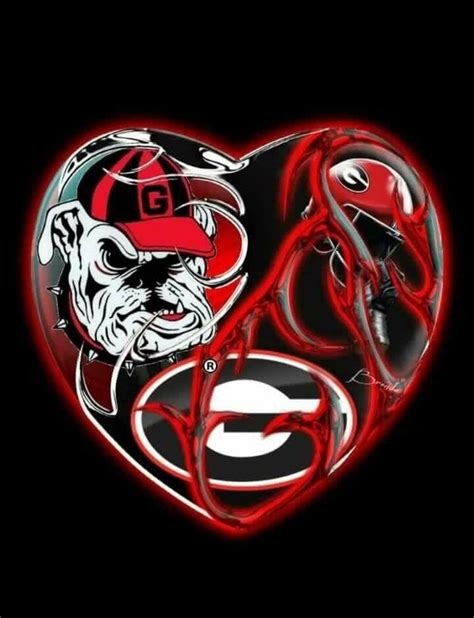 georgia bulldog tattoos 258 best bulldogs images on collage