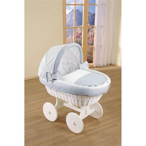 Wicker Crib Bedding Leipold Wicker Hooded Trio Crib Bedding Nursery Moses Baskets From Pramcentre Uk