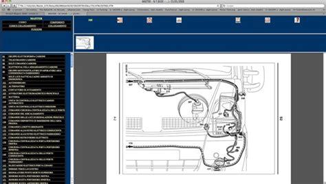 renault kangoo ii  wiring diagrams schemi elettrici ebay