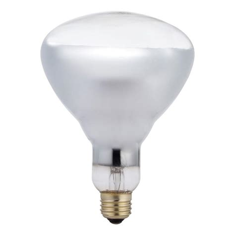 Philips 125 Watt Br40 Incandescent Heat Clear Light