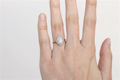 non engagement rings 24 non traditional engagement rings the everygirl