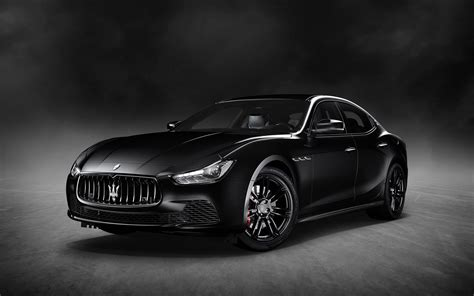 black maserati sports car 2018 maserati ghibli nerissimo black edition serious wheels