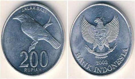 Mata Uang Koin bi uang pecahan 100 dan 200 rupiah masih berlaku