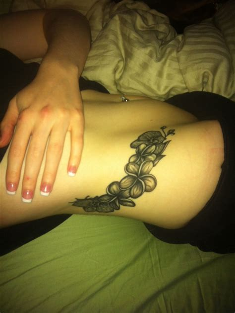 tattoos unlimited body my custom plumeria orchid tattoo done by shelly v at