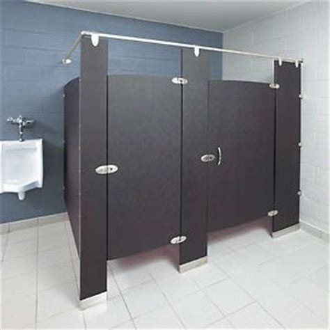 what bathroom stall is used the most the most popular material choices for stall dividers for